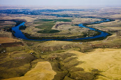 Horseshoe Bend in River Stock Photography