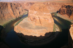 Horseshoe bend in Utah, USA Stock Photography