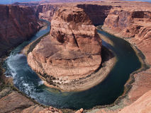 Horseshoe Canyon, Arizona. Canyon of Colorado river close t o Page, Arizona Royalty Free Stock Images