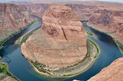 Horseshoe Canyon - very natural picture royalty free stock photos