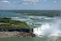 Horseshoe fall at Niagara falls Stock Photography