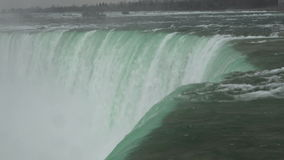 Horseshoe Fall in Niagara Falls in Canadian Side Stock Images
