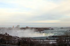 Horseshoe Fall in Niagara Falls royalty free stock images