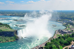 Horseshoe Falls aerial view Royalty Free Stock Photography