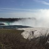 Horseshoe Falls from the American Side stock photos