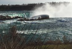 Horseshoe Falls from the American Side Stock Photo