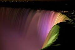 Horseshoe Falls At Night Royalty Free Stock Photos