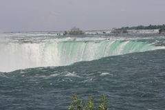Horseshoe Falls, Canadian at Brink Royalty Free Stock Photography