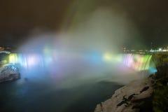 Horseshoe Falls light Niagara Falls Stock Images
