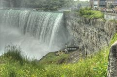 Horseshoe Falls, Niagara Falls. Niagara Horseshoe Falls Canadian side Royalty Free Stock Photo