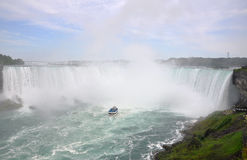Horseshoe Falls of Niagara Falls Stock Images