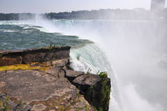 Horseshoe Falls of Niagara Falls Royalty Free Stock Images