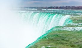 Horseshoe Falls in Niagara Falls Royalty Free Stock Photo