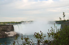 The Horseshoe Falls in Niagara Falls, Ontario Royalty Free Stock Photography