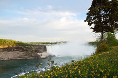 The Horseshoe Falls in Niagara Falls, Ontario Stock Image