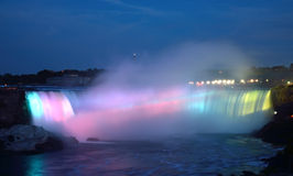 The Horseshoe Falls in Niagara Falls, Ontario Stock Photo