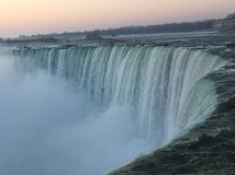 Horseshoe Falls at Sunrise Stock Photography