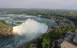 Horseshoe Falls at Sunset Stock Photo