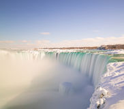 Horseshoe Falls in the Winter Royalty Free Stock Image
