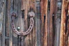 Horseshoe, Goal, Barn, Wood Royalty Free Stock Photo