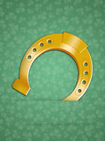 Horseshoe for good luck Royalty Free Stock Images