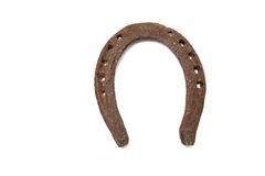 Horseshoe for good luck symbol Royalty Free Stock Photos