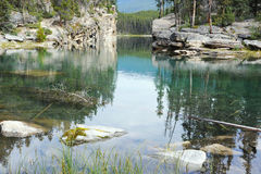 Horseshoe Lake Stock Images