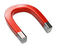 Horseshoe Magnet on White Royalty Free Stock Image