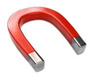 Horseshoe Magnet on White Royalty Free Stock Image