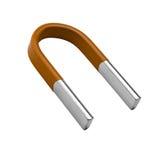 Horseshoe magnet Stock Photography