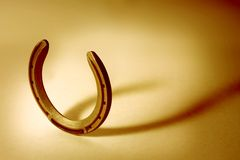 Free Horseshoe Orange Cast Stock Image - 1920021