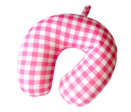 Horseshoe pillow isolate, clipping path Royalty Free Stock Image
