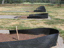 Horseshoe Pits Stock Images