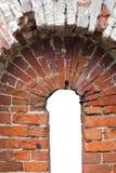 Horseshoe red brick arch Stock Images