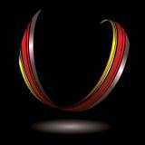 Horseshoe ribbon Royalty Free Stock Images