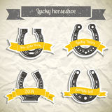Horseshoe Set Stock Images