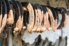 Horseshoes Royalty Free Stock Photo