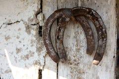 Horseshoes Stock Photo