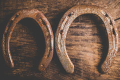 Horseshoes background Stock Image