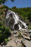 Horsetail Dalingen, Valdez Royalty-vrije Stock Afbeeldingen