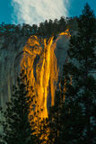 Horsetail Fall Royalty Free Stock Photos
