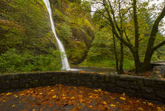 Horsetail Falls in the Fall Stock Photos