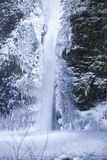 Horsetail Falls Frozen Stock Photos