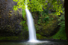 Horsetail Falls in Oregon Stock Images