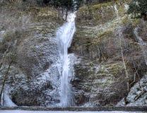 Horsetail Falls Panorama Stock Images