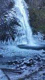 Horsetail valt… één van de vele mooie watervallen in de kloof van Colombia Royalty-vrije Stock Foto's