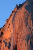 Horsetail waterval, het Nationale Park van Yosemite, Californië, de V.S. Royalty-vrije Stock Afbeeldingen