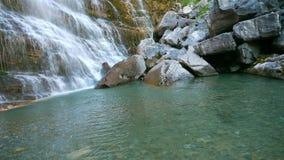 horsetailordesaspain vattenfall royaltyfria foton