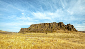 Horsetheif Butte Columbia River Gorge Stock Photography