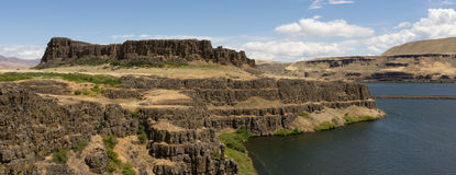 Horsethief Butte Columbia Hills State Park Washington State Royalty Free Stock Photography